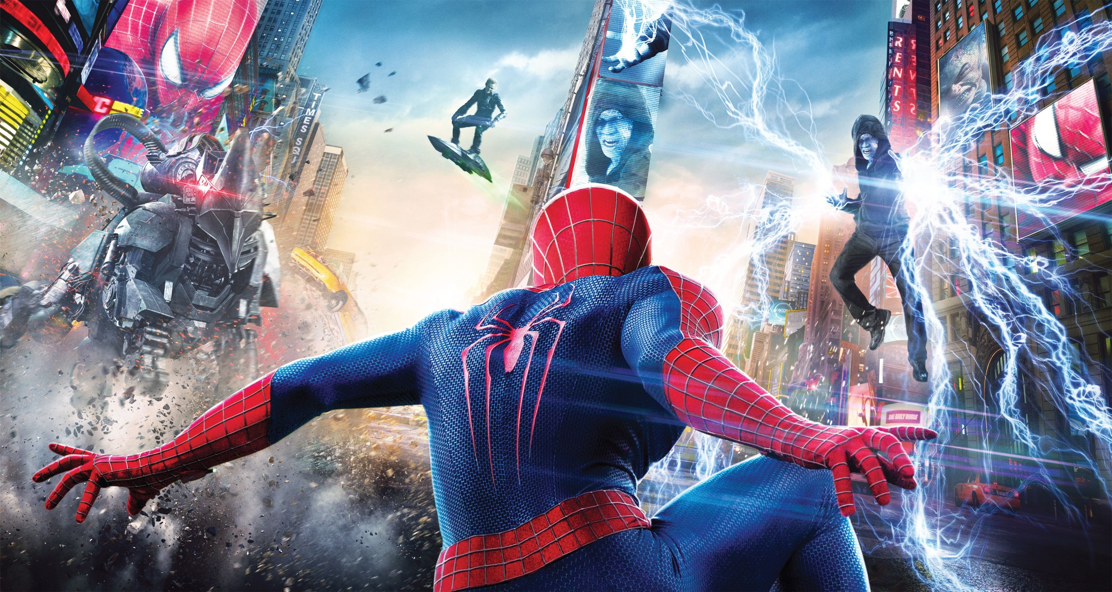 3840x2046 The Amazing Spider Man 2 4k Free Pc Wallpaper Spiderman Marvel Movie Posters Amazing Spiderman