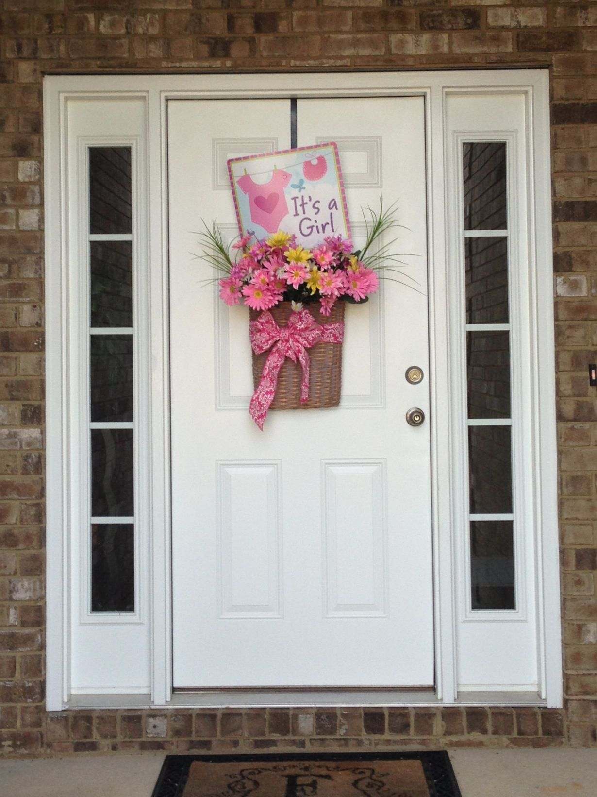 Welcome home sign my mom made coming home from the hospital with a ...