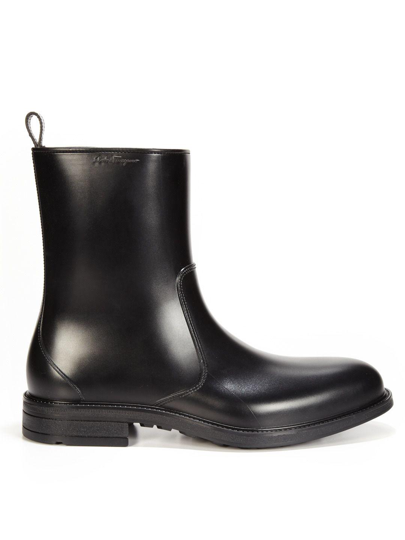 designer rain boots for men