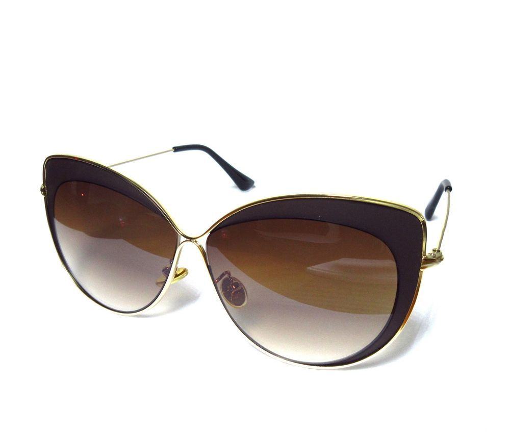 a0ee2018a7917 Women s Fashion Sunglasses Gold-colored frame and high-quality lens New   fashion  clothing  shoes  accessories  womensaccessories ...