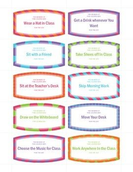 Classroom Reward Coupons Freebie Kindness Activities