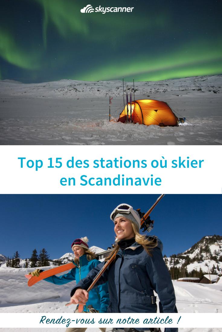Top 15 des stations où skier en Scandinavie (avec images