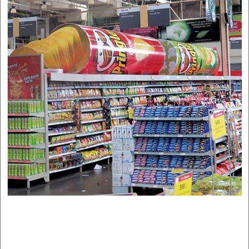 Image Gallery Pringles Spilling Can Replica Displays Point Of Purchase Pop Display Display