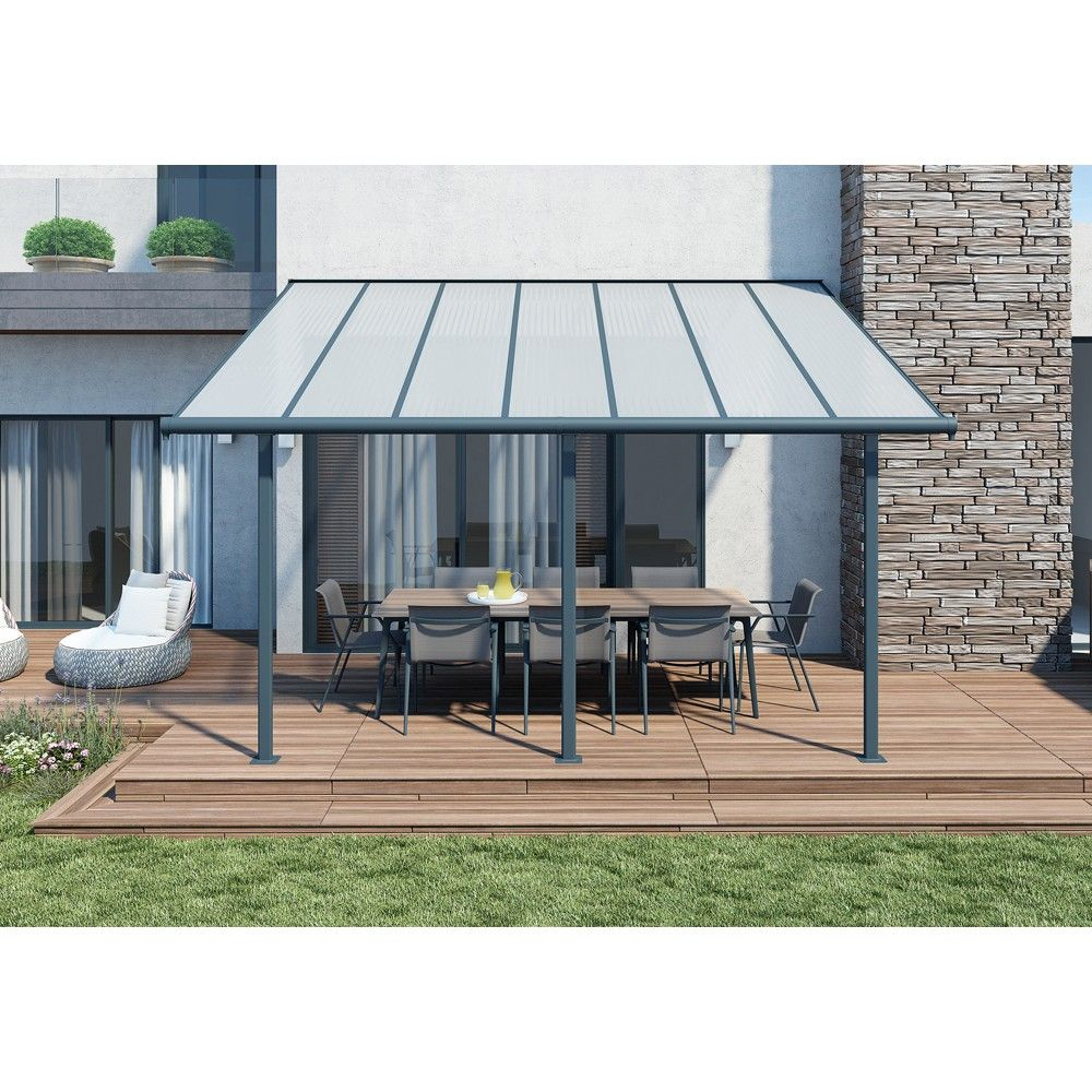 Toit De Terrasse Elite 3x4 M Gifi 809483x Pergola Outdoor Decor Patio