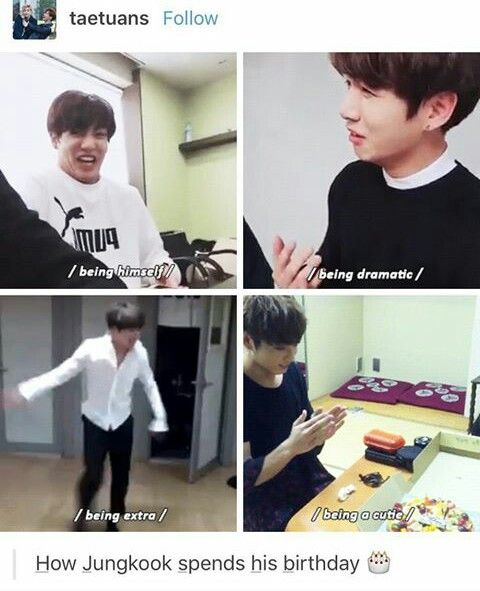 A Best Way To Celebrate Your 20th Birthday Bts Funny Bts Boys Kpop Memes