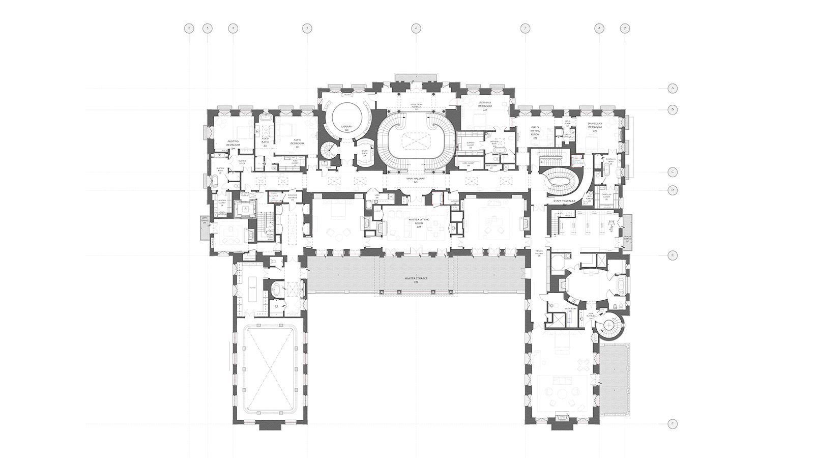 Chateau Des Fleurs Estate Planning How To Plan Floor Plans