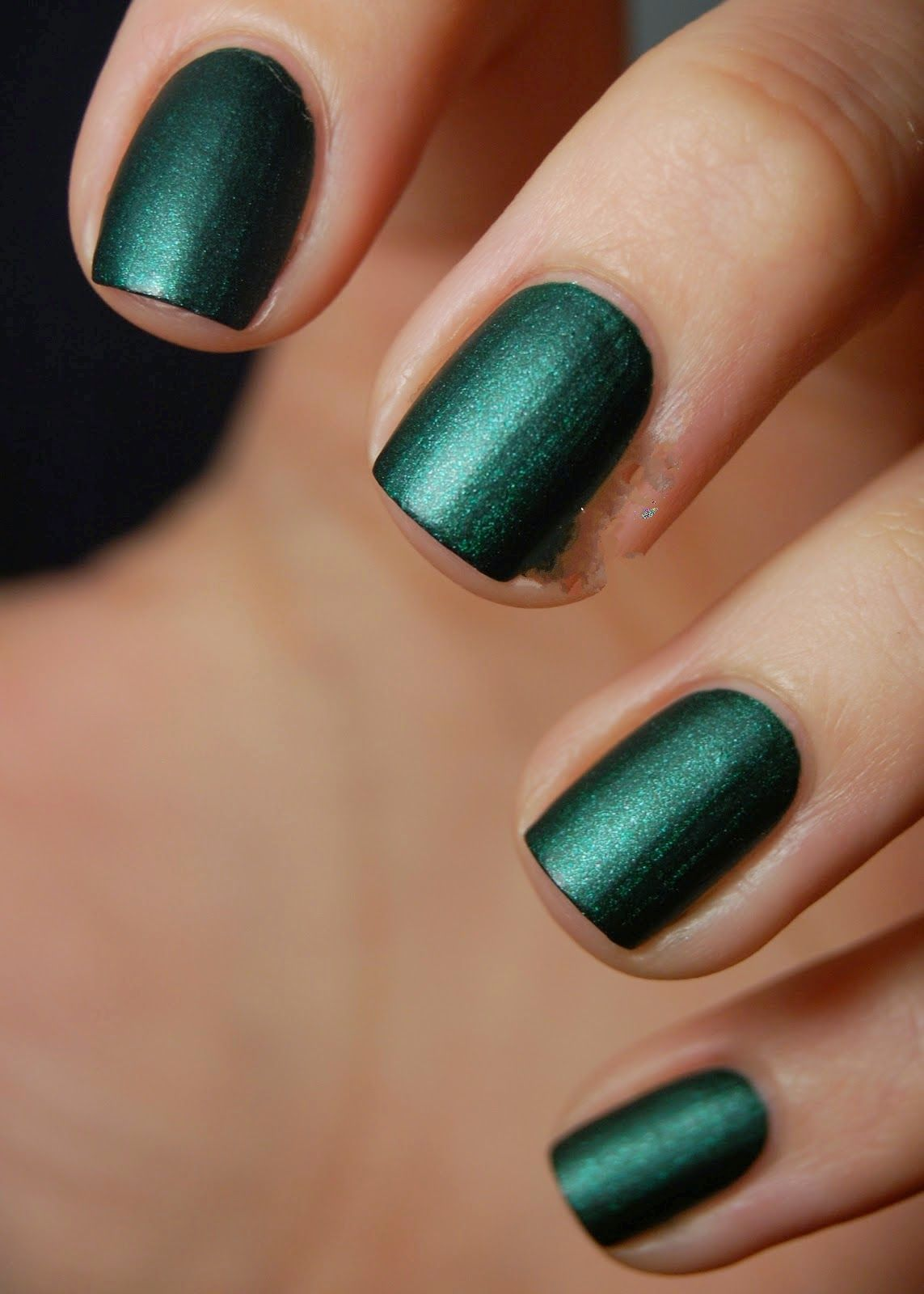 Green Dress Up Nail Design | Nails Side | Pinterest | Dark and Black