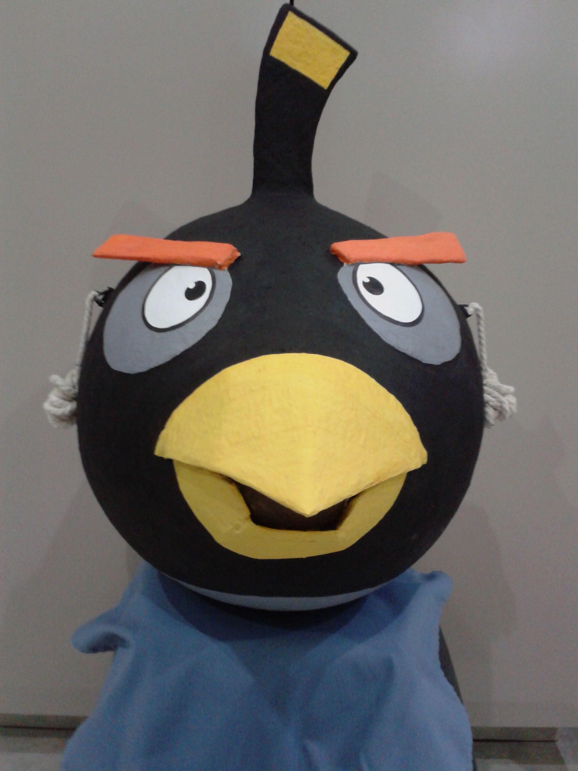 Angry Bird Black 3d Pinata Pinatas Birds