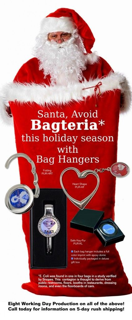 Don't be #naughty... Make sure to use an #EMT #BagHanger this #holiday #season.