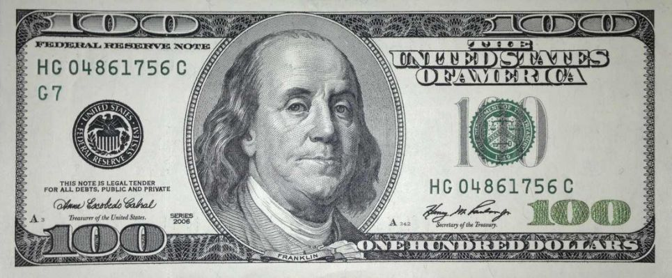 picture regarding Printable 100 Dollar Bill identified as Printable Participate in Revenue 100 Greenback 100 greenback monthly bill 100