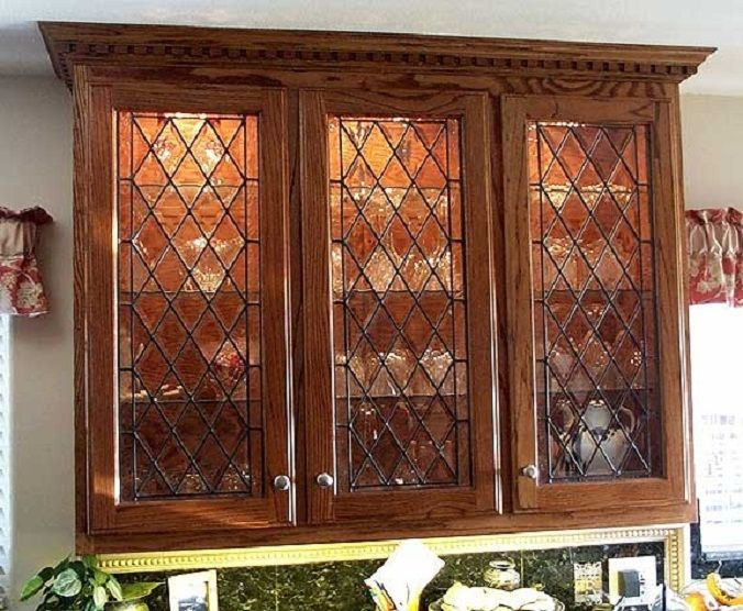Glass Kitchen Cabinet Doors | Kitchen Cabinets Doors Glass For Every  Kitchen Types : Wooden Cabinets .