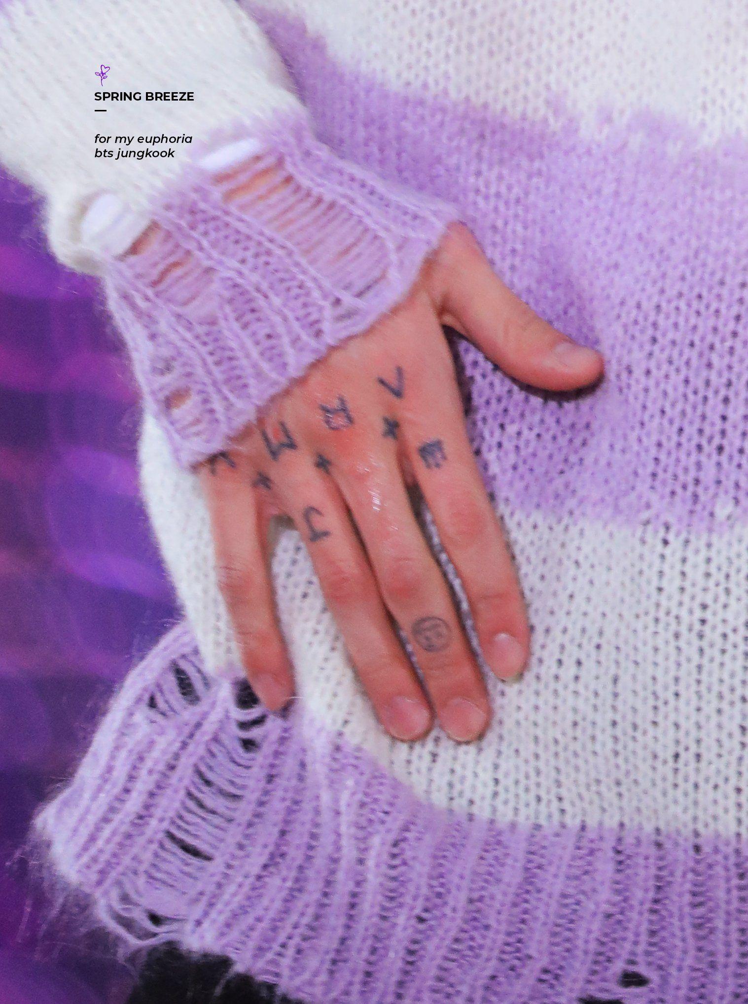 봄바람JK🌸 on in 2020 Bts tattoos, Bts, Tattoos