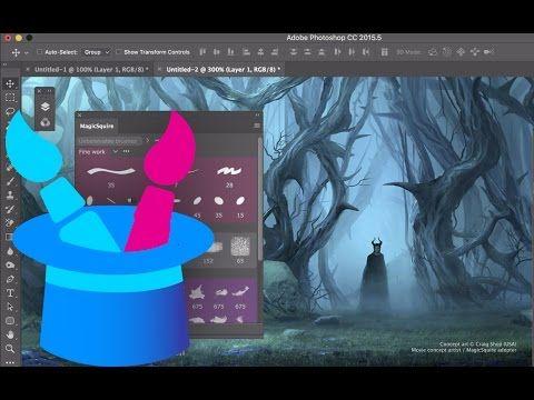 Magicsquire The Brush Groups Organizing Agent For Photoshop Cc 2015 Cs6 Cs5 Photoshop Photoshop Youtube Photoshop Brushes