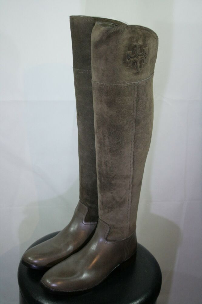 premium selection 590eb 6b233 Tolle Tory Burch Simone over the knee Schuhe Gr. 10 BITTE ...