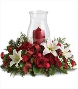 Christmas Centerpieces Christmas Pinterest Flower