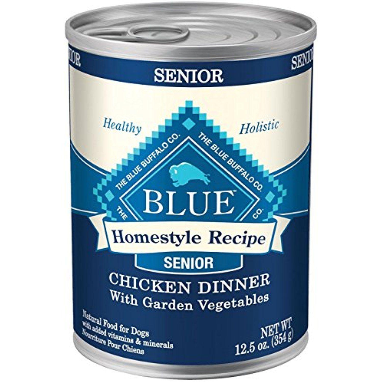 Blue buffalo senior homestyle recipe chicken 125 oz