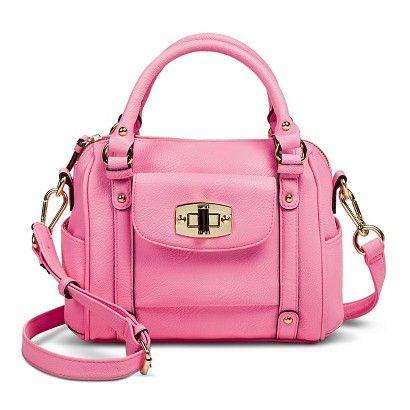 9e01cb6cd4  35 Merona® Mini Satchel Handbag with Removable Crossbody Strap