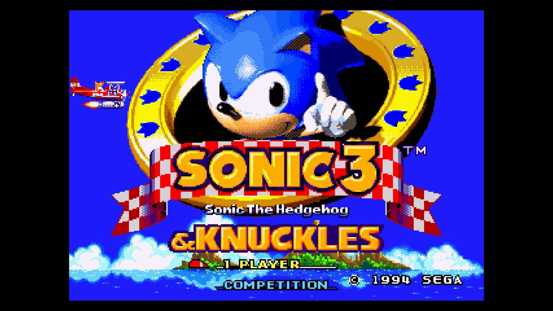 Image Result For Sonic 3 And Knuckles Title Screen Sonic The Hedgehog Sonic Sonic 3