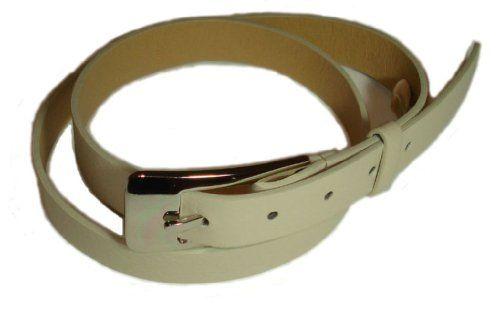 607f8bb87799 BeltsandStuds Women Designer Skinny Off White Dress Belt S 32 Off-WhiteFrom   BeltsandStuds Price