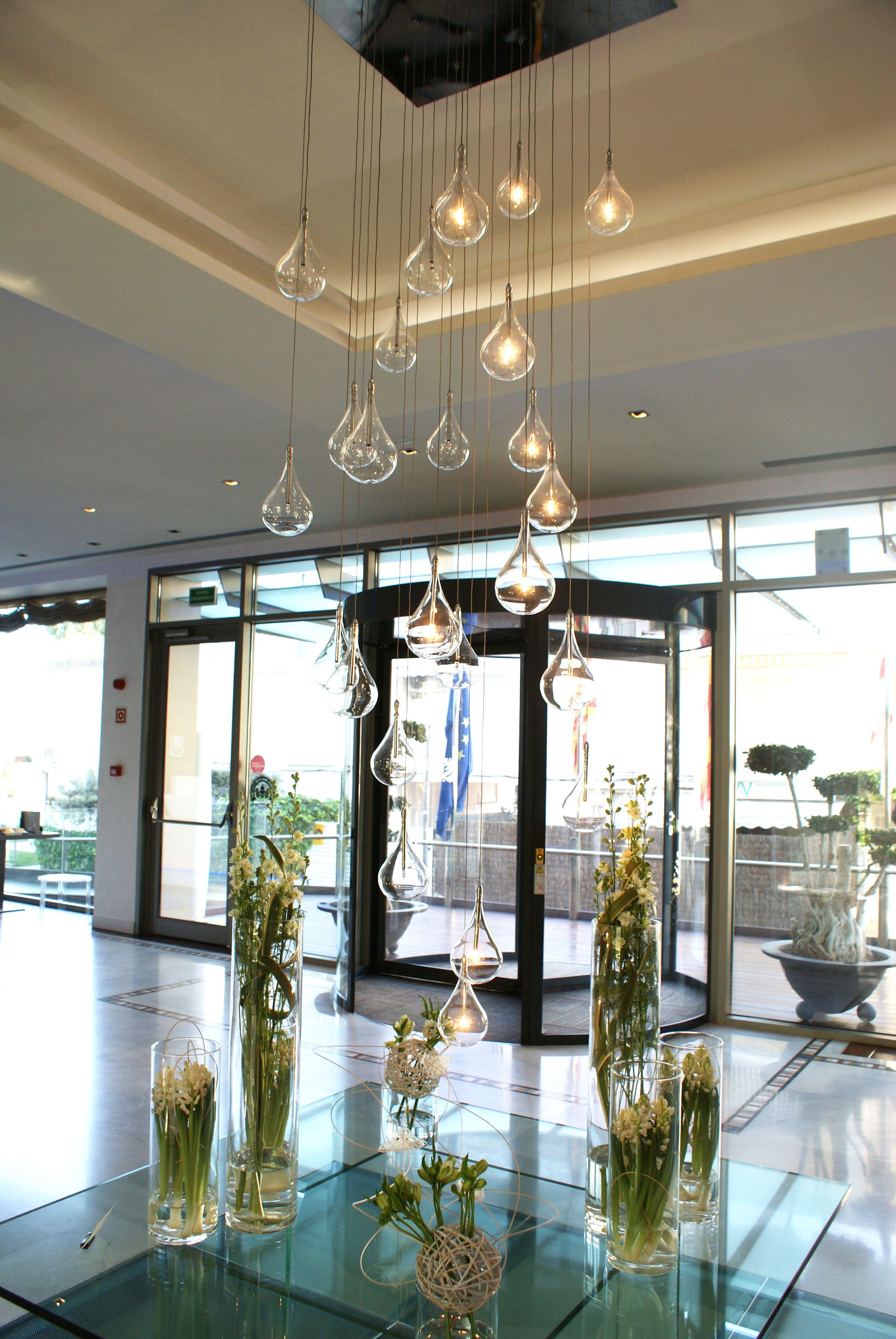en colocados lampara detalles Fabulosa y hall florales el CWoexBrd
