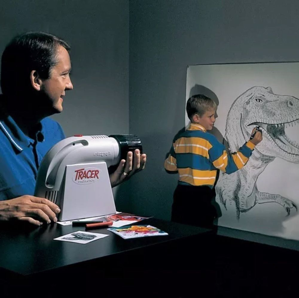 Art projector artograph tracer drawing enlarger 14x color