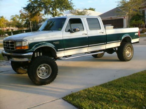 Vin 1ftjw36g6teb03939 Ford F 350 Xlt Lifted 1996 Ford F350 Crewcab 4x4 460 Big Block Ford F350 F350 Ford 4x4
