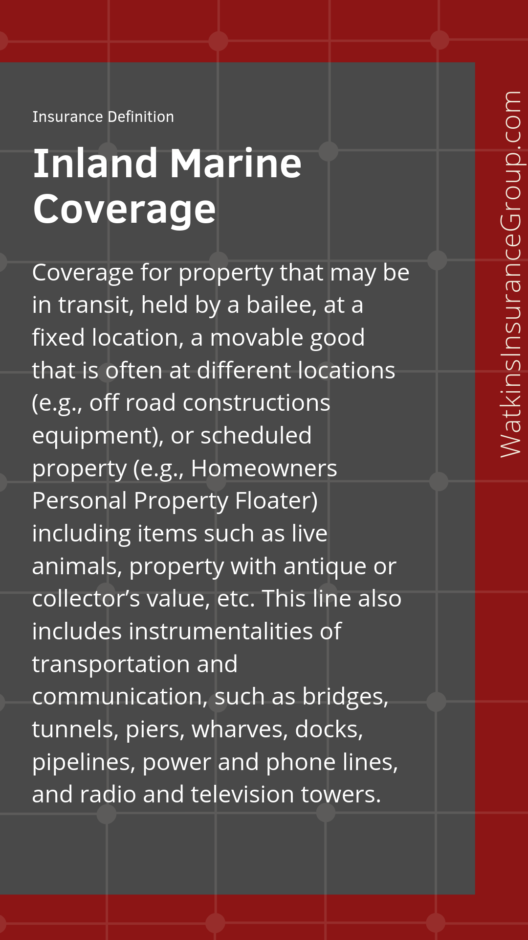 Glossary With Images Group Insurance Business Insurance Flood Insurance