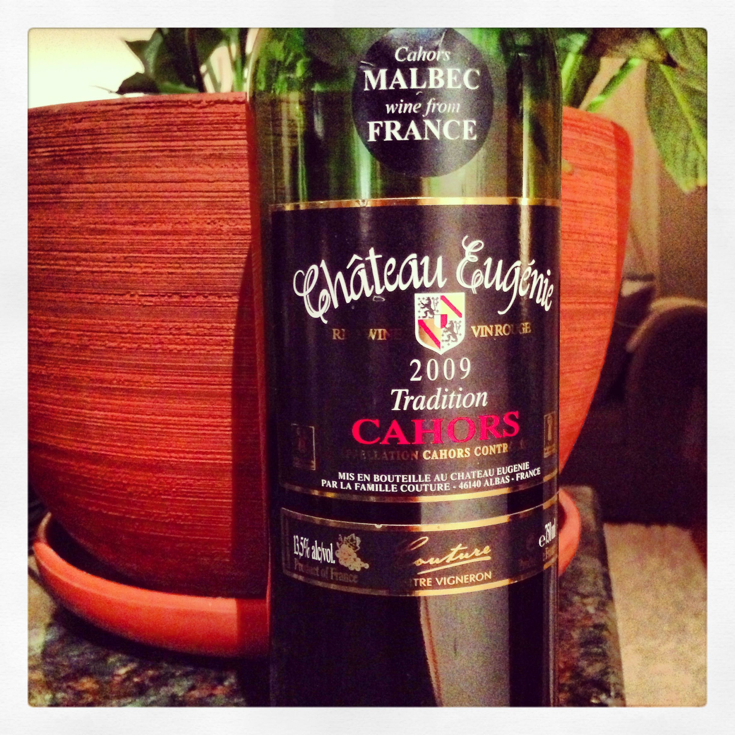 Chateau Eugenie Malbec Fr Cahors Fr Only 15 For This Steal I Love This Dry Styled Slightly Peppery Pork Rind Character Malbec Wine Bottle Expensive Wine