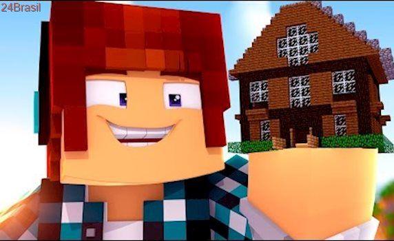 Minecraft Casa Do Authenticgames Youtubers Gigantes 01