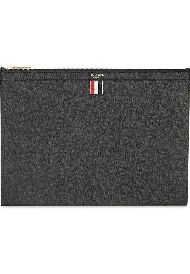 c941754f19c Thom Browne Medium leather document holder | เป๋าst8 | Document ...