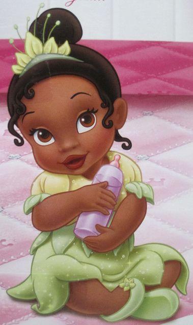 Tiana Dessin Animé Princesse Tiana Et Bébé Princesse