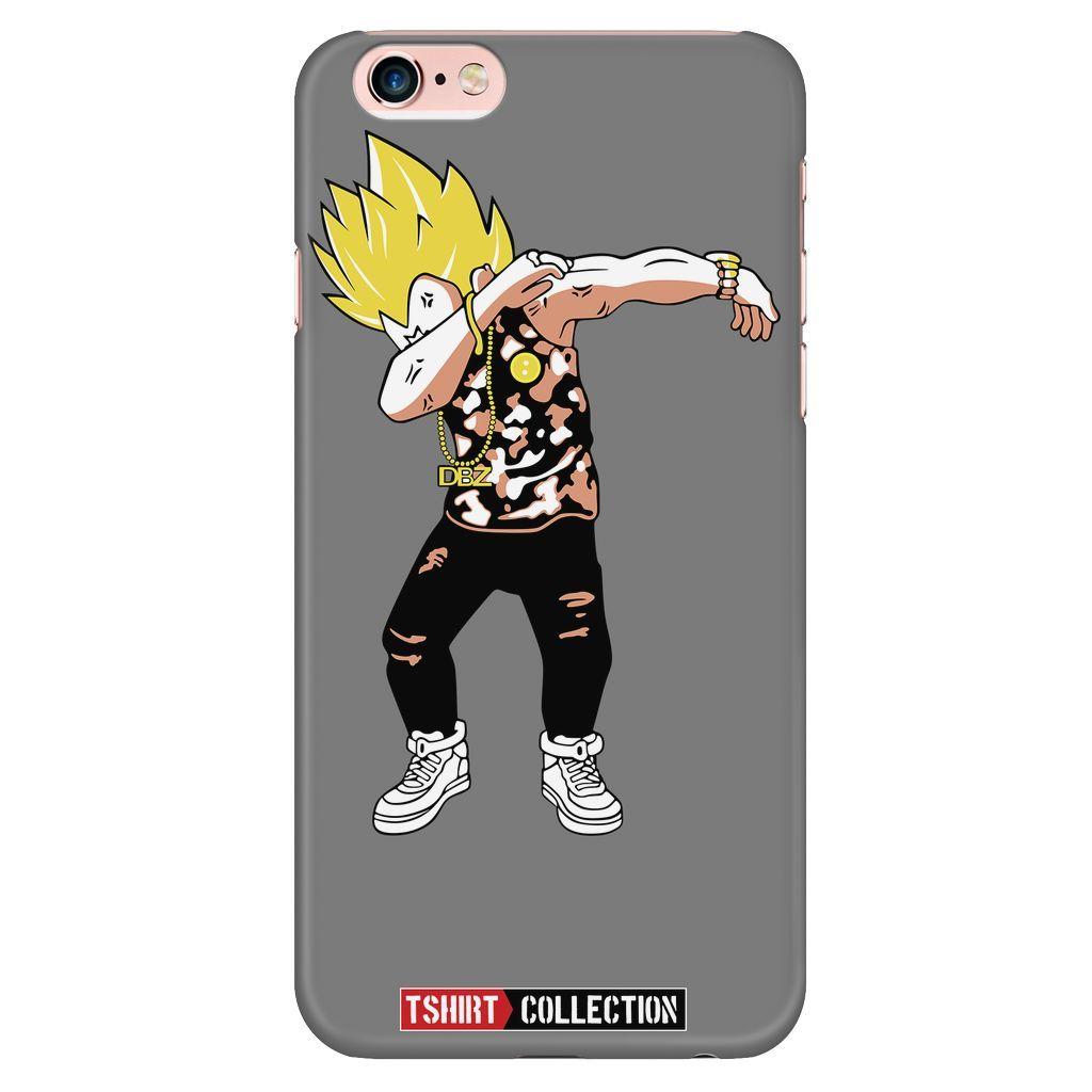 Super Saiyan Vegeta DAB dance iPhone Phone 5/5s 6/6s 6/6s plus Phone Case - TL00235PC-GREY