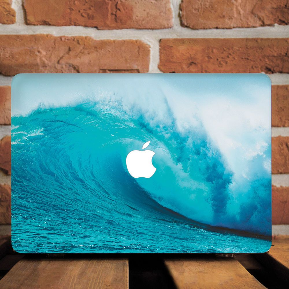 Details About Blue Ocean Sea Wave Nature Hard Cover Case For Macbook Pro 12 13 15 Air 11 13 Computer