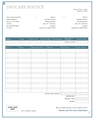 13 Dependent Care Fsa Receipt Template In 2020 Receipt Template Invoice Template Invoice Template Word