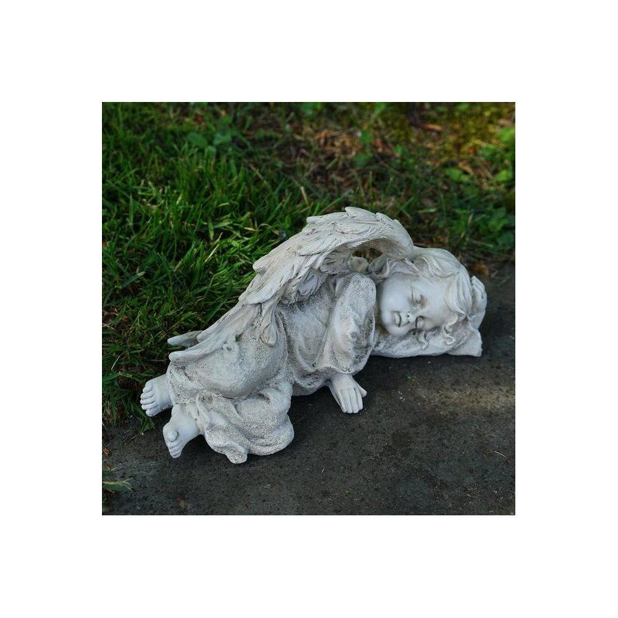 Decorative Cherub Sleeping Angel Outdoor Garden Statue