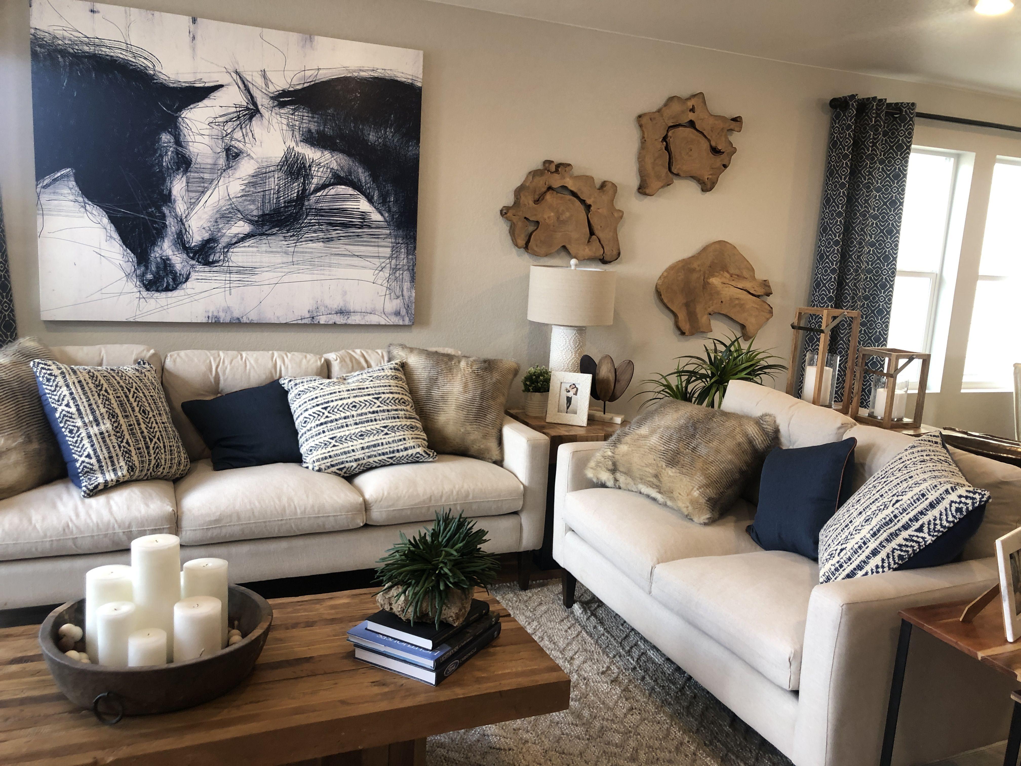 navy living room in 2020  beige living room decor beige