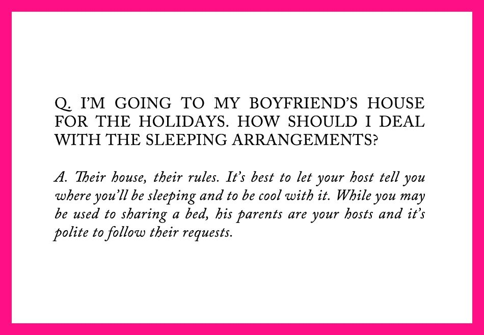 MANNERS FOR A MODERN GIRL | HOLIDAYEDITION