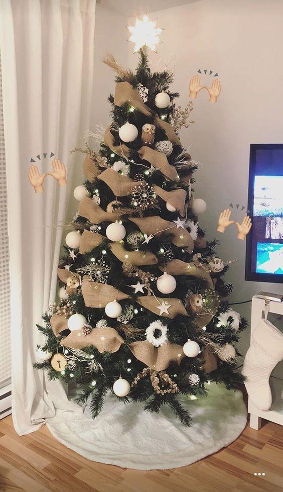 Photo of 50 hermosas ideas para decorar tu árbol de navidad en diferentes