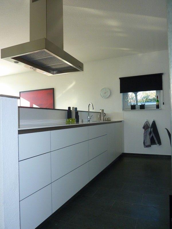 Unsere grifflose, weiße Küche - Fertiggestellte Küchen - Müller - bilder in der küche