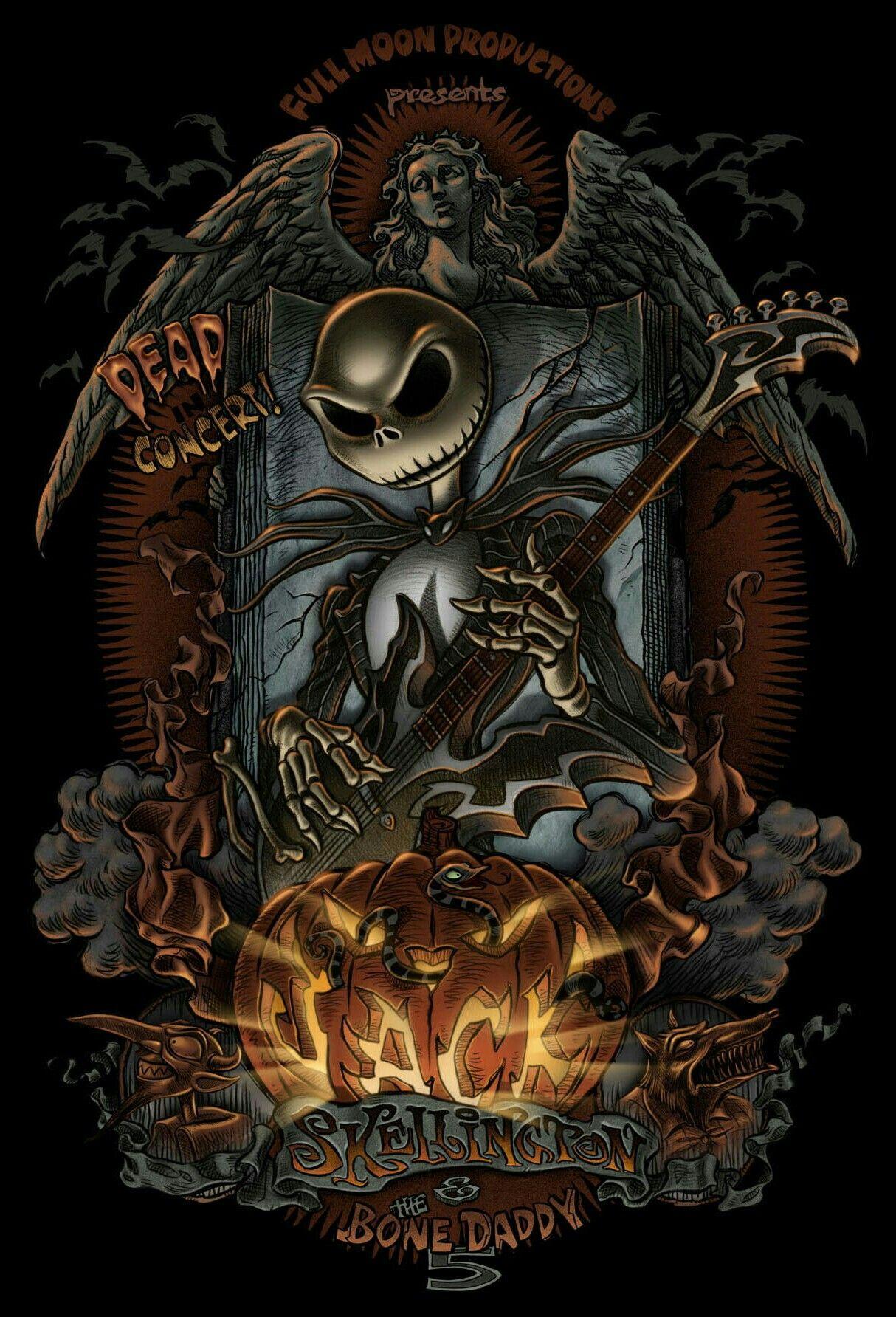 JACK SKELLINGTON Nightmare before christmas tattoo, Jack