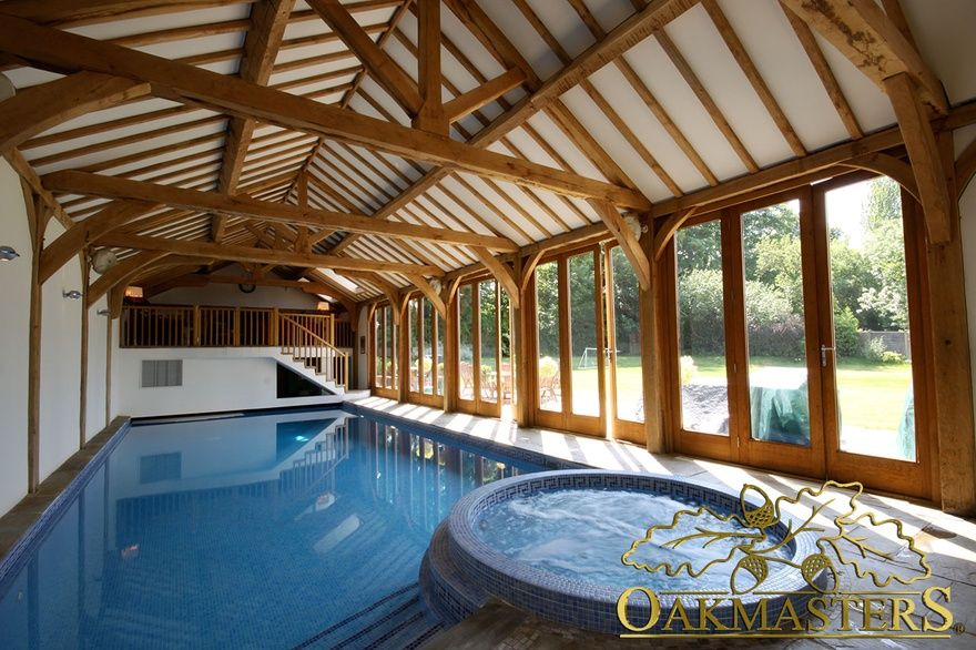 5 Ways Oak Can Increase The Value And Appeal Of A Property Oakmasters Building A Pool Indoor Pool House Pool Houses