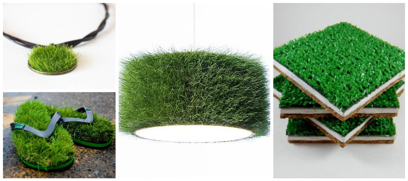 Fun things to make with fake grass off cuts garden for Faux grass for crafts