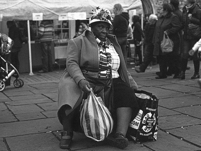 P2 062 Homeless Bags Bag Lady Lady