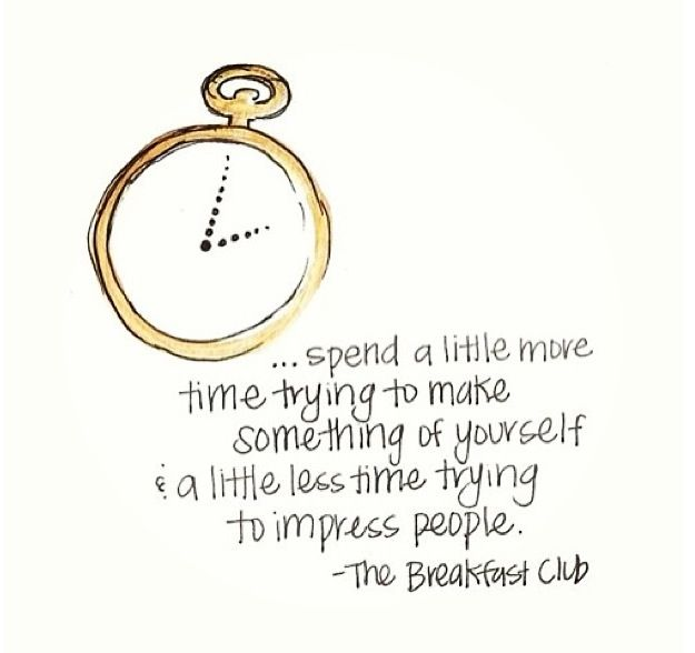The breakfast club quote