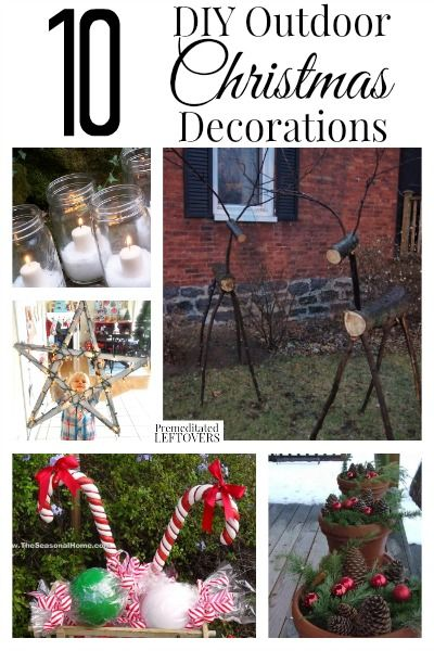 Looking for diy outdoor christmas decorations here are 10 fun and looking for diy outdoor christmas decorations here are 10 fun and mostly frugal ideas to solutioingenieria Gallery