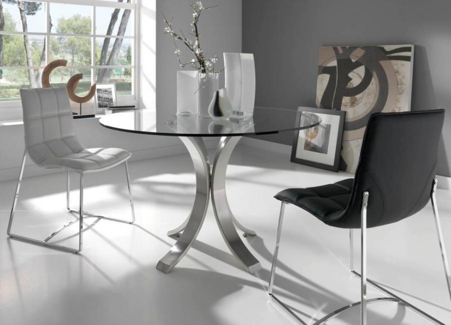 Atkins Chrome Metal Glass Sofa Table Modern Glass Coffee Table Modern Coffee Tables Coffee Table Setting