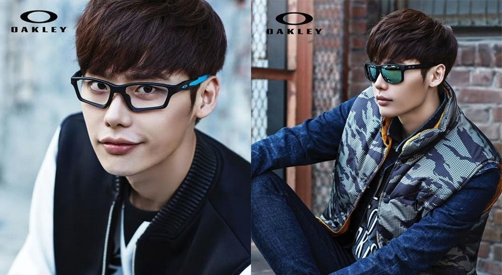 oakley brand sunglasses  Lee Jong Suk becomes the first Korean model for Oakley brand