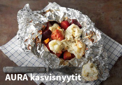 AURA kasvisnyytit, Resepti: Valio #kauppahalli24 #resepti #kasvisnyytit #aurajuusto #verkkoruokakauppa