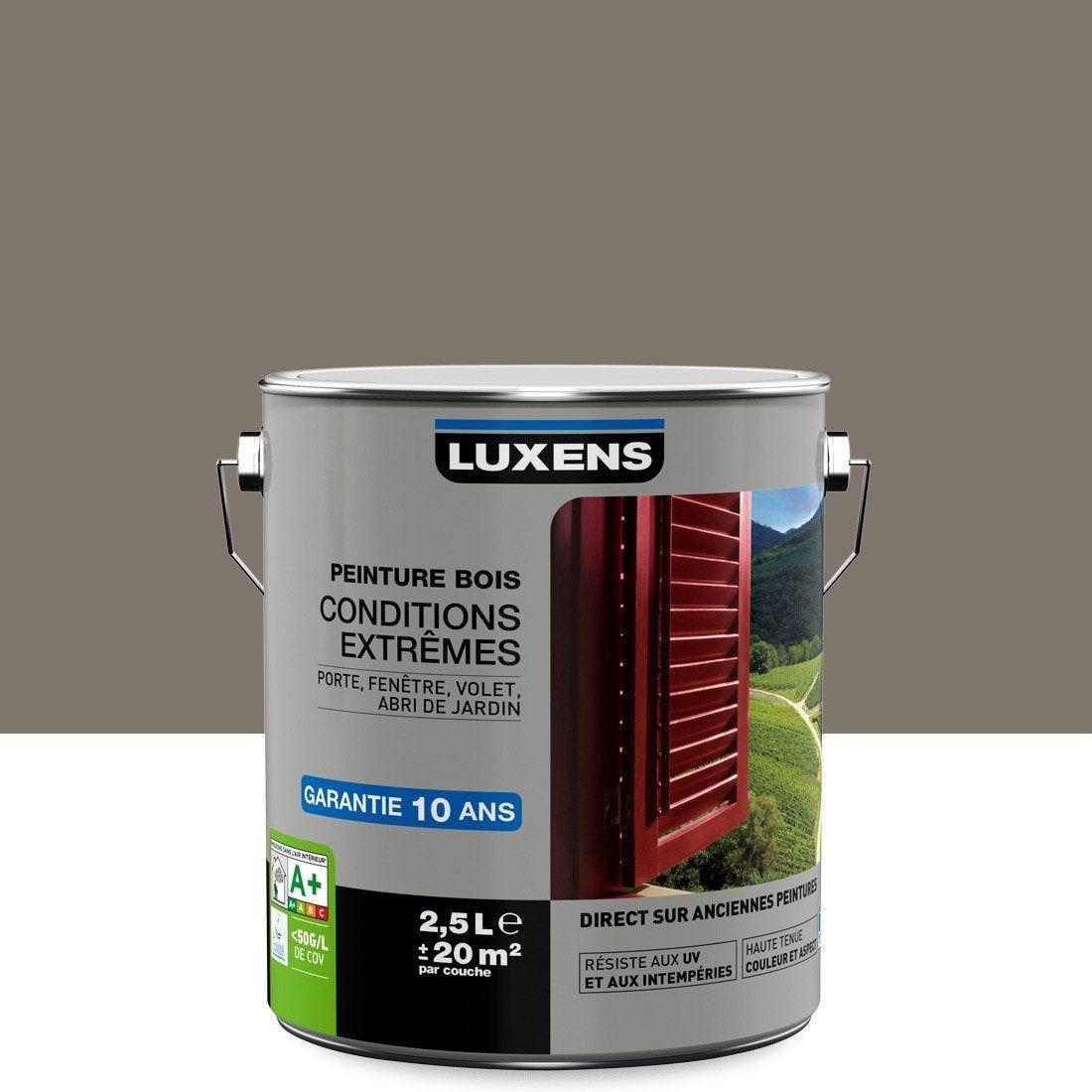 Peinture Bois Extérieur Conditions Extrêmes Luxens Brun