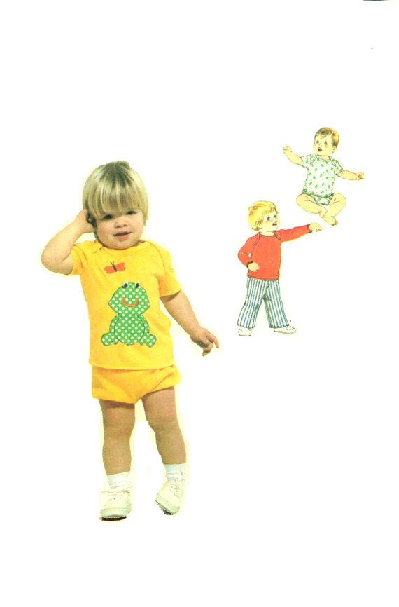 Simplicity 9016 Toddler Stretch Knit Pullover Sewing Pattern By